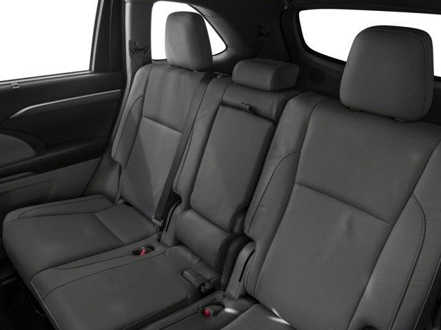 2017 Toyota Highlander Limited Platinum V6 AWD Toyota