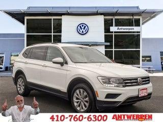 Volkswagen Of Clarksville >> 2018 Volkswagen Tiguan Se